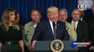Donald Trump a ajuns la Las Vegas pentru a sustine victimele atacului armat
