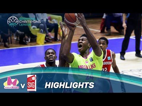 Mega Leks v SIG Strasbourg - Highlights - Basketball Champions League