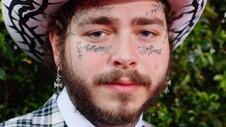 We Finally Understand Post Malone's Face Tattoos