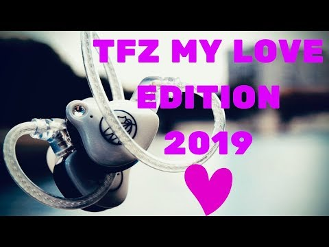 Обзор TFZ My Love Edition 2019 - Ох уж эти стразики!
