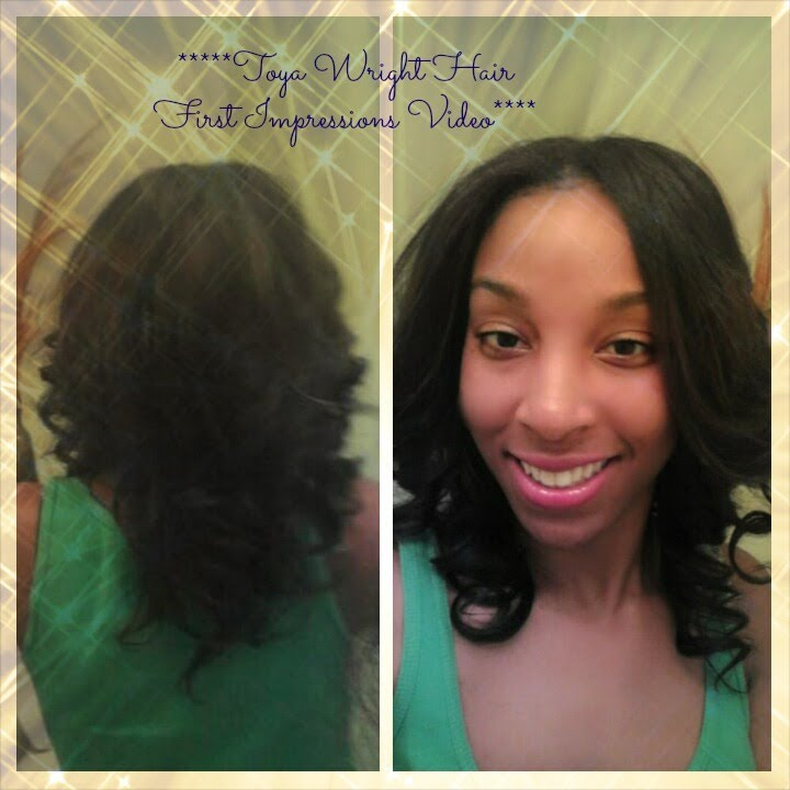 Toya Wright Hair Collection First Impression