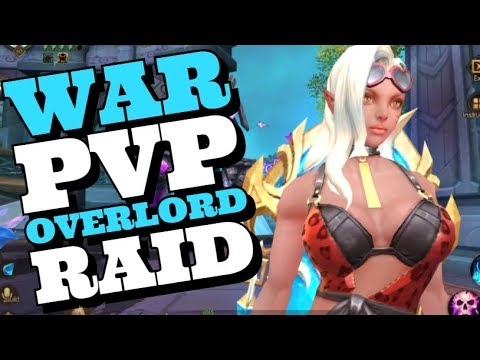 [LIVE 898] WAR PVP OVERLORD RAID - KING OF KINGS MMORPG ANDROID