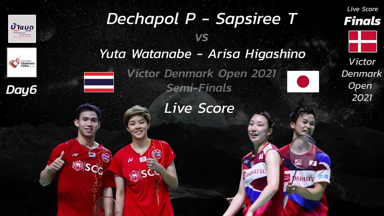 Download Live Score - Dechapol/Sapsiree (THA) vs Yuta/Arisa (JPN) Final