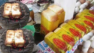 Start Your Day with Butter Toast and Omelette | Kolkata Street Food | Indian Food at Street