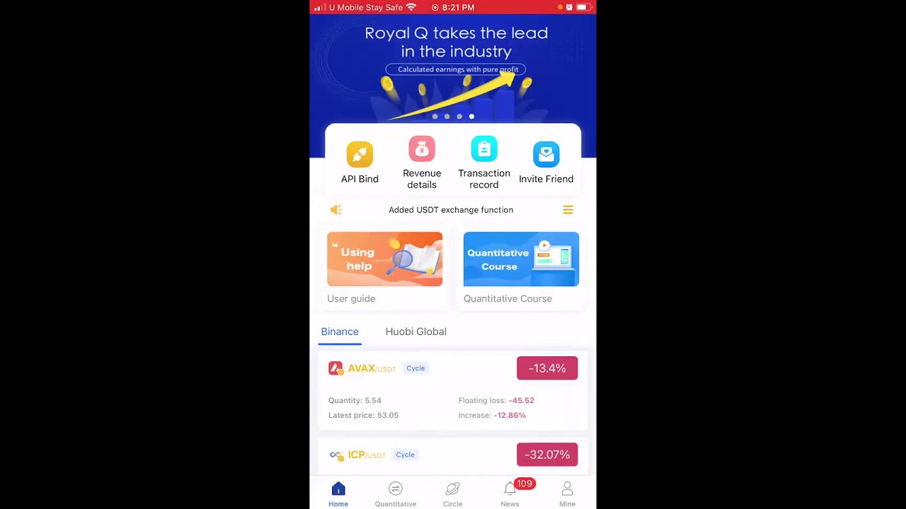 Download ROYALQ TRADING BOT SECRETE  AND WHY ALL THE RICH GUYS USE THIS SYSTEM TO MAKE ALOT OF MONEY.