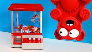 Süßigkeiten Maschine an Lucky seinem Geburtstag