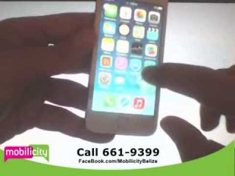 Mobilicity Belize - iPhone 5S