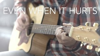 Even When It Hurts - Hillsong UNITED (Fingerstyle guitar cover by Harry Cho)