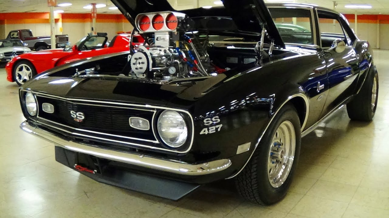 Hd Wallpaper 1970 Chevelle Car 1100 Hp Supercharged 1968 Camaro 540 Big Block Injected V8