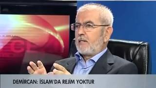 Ali Rıza Demircan: Kur'an ve Sünnette Recm Cezası Yoktur....