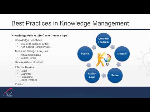 6 Best Practices for Implementing Knowledge Management for Y