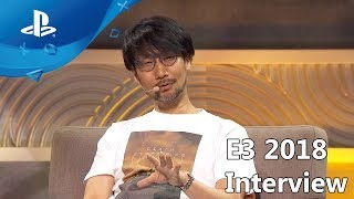 Death Stranding - Hideo Kojima Interview - E3 2018 Coliseum [PS4]