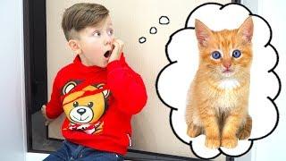 БЕЗДОМНЫЙ Котенок и СЕНЯ! Лучшие серии про Сеню и Котенка Голди для детей