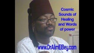 "Gambar cover Dr Alim El-Bey ""Sounds of Cosmic Healing & Words of Power"""