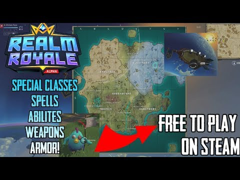 NEW BR || Paladins : REALM ROYALE || FREE TO PLAY || PC GAMEPLAY
