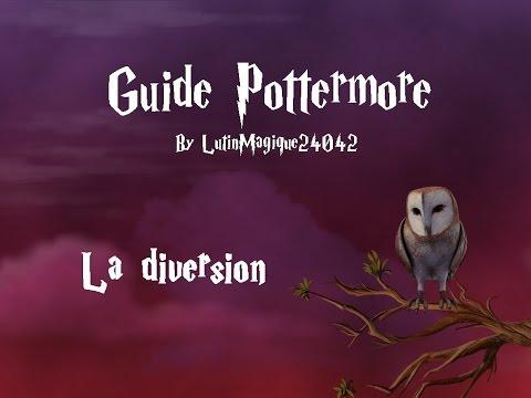 Guide Pottermore // La diversion [FR]