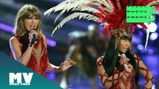 Video Nick Minaj And Taylor Swift - The night is still young / Bad blood   from VMA download MP3, 3GP, MP4, WEBM, AVI, FLV Januari 2018