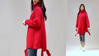 수지 닮은 그녀와 함께하는 가을코디 패션제안 -밑단 커…