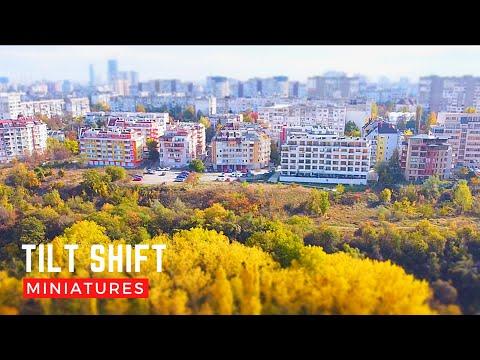 [Tilt Shift] Есенни миниатюри, Въртопо, Младост, София || Mavic Mini