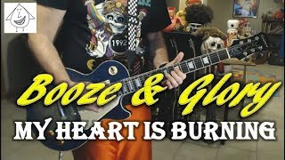 Booze & Glory - My Heart Is Burning - Punk Guitar Cover (guitar tab in description!)