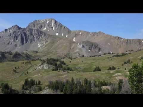 Echo Peak Panorama - Madison Range - Montana