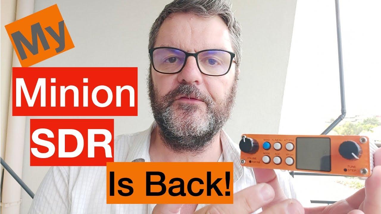 My Minion SDR Radio is Back!