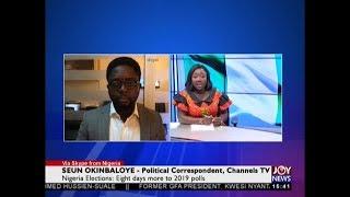 Nigeria Elections – The Pulse on JoyNews (8-2-19)