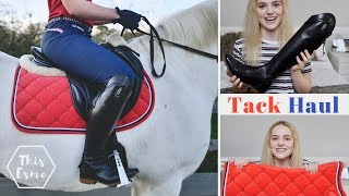 TACK HAUL | New tall boots! | This Esme