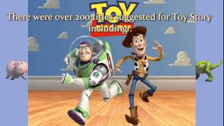 Top 10 Facts About Pixar