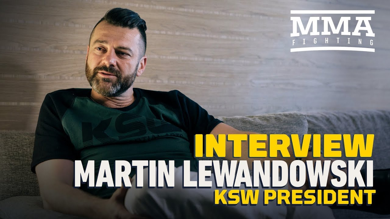 KSW Chief Martin Lewandowski Talks Co-Promotion With Bellator, Expansion Into USA, KSW vs. UFC, More
