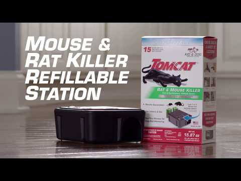 How To Eliminate Mice Using The Tomcat® Child & Dog Resistant Rat & Mouse Killer Refillable Station