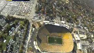 Parachuting Into Michigan Stadium with the 101st Airborne Division