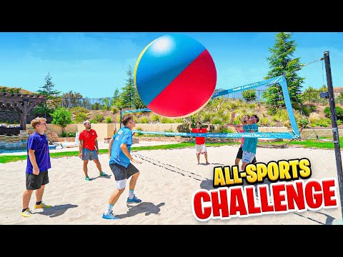 2HYPE House All Sports Challenge!
