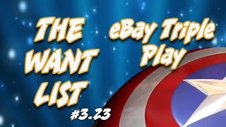 The Want List #3.23: eBay Triple Play - Captain America, The Flash, and Doctor Fate