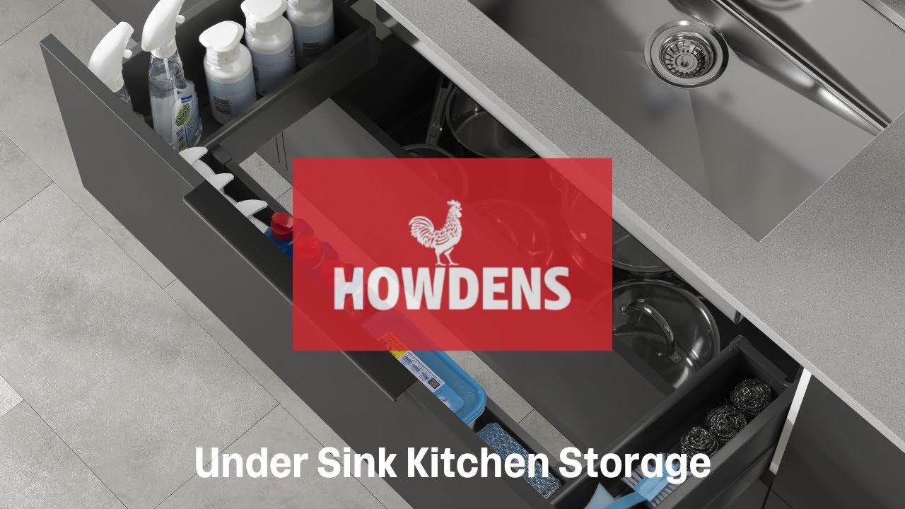 under sink kitchen storage drawer