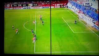 Gol de Batallini - Argentinos Jrs 2 Vs Boca 0 - Superliga Argentina 2017/18 Fecha 18