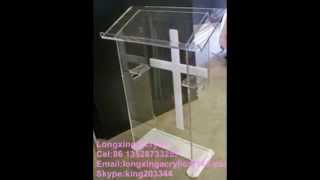 Acrylic Lectern/lucite Podium Pulpit   Church Lectern Church Furniture