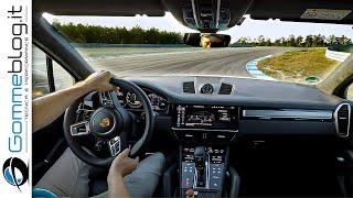 2019 Porsche Cayenne Turbo S E Hybrid (680 HP) - POV HOT LAP