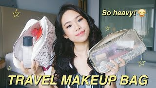 WHAT'S IN MY TRAVEL MAKEUP and SKINCARE BAG?