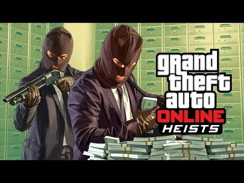 GTA-5 online playing heists & online Races with IGC
