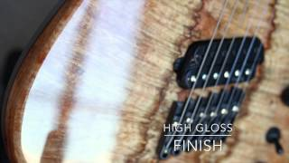 Ormsby Guitars HypeMachine Multiscale 2013 - Spalt Burl Maple 6 String