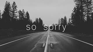 """So Sorry"" - Emotional Guitar Rap Beat 