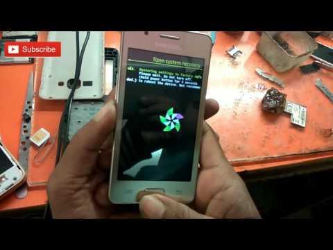 Samsung Z2 Hard Reset / Factory Reset Fix Forgot Screen Lock