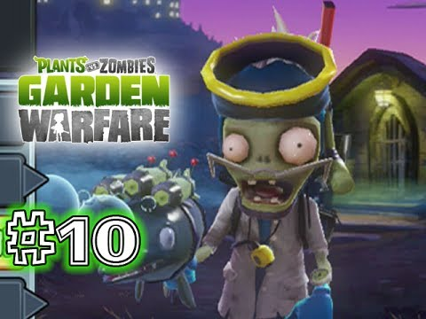 Plants Vs. Zombies - GARDEN WARFARE - PART 10 - MARINE BIOLOGIST (HD GAMEPLAY)
