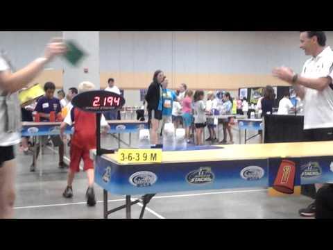 Austin Naber, 8-2-14, Junior Olympics, 3-6-3 Scored Gold: 2.194