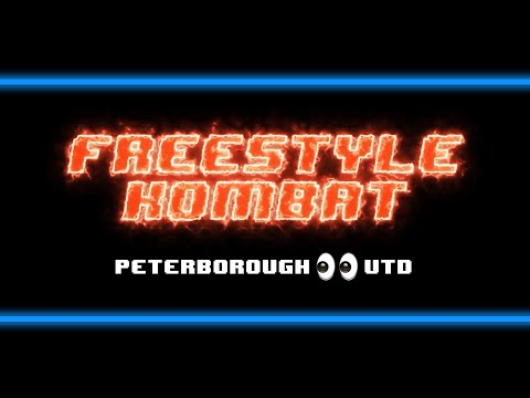 Career ending levels of humiliation in Freestyle Kombat with Peterborough United Academy. 👀