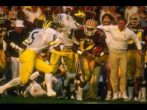 1987 Rose Bowl  Michigan Vs. Arizona State