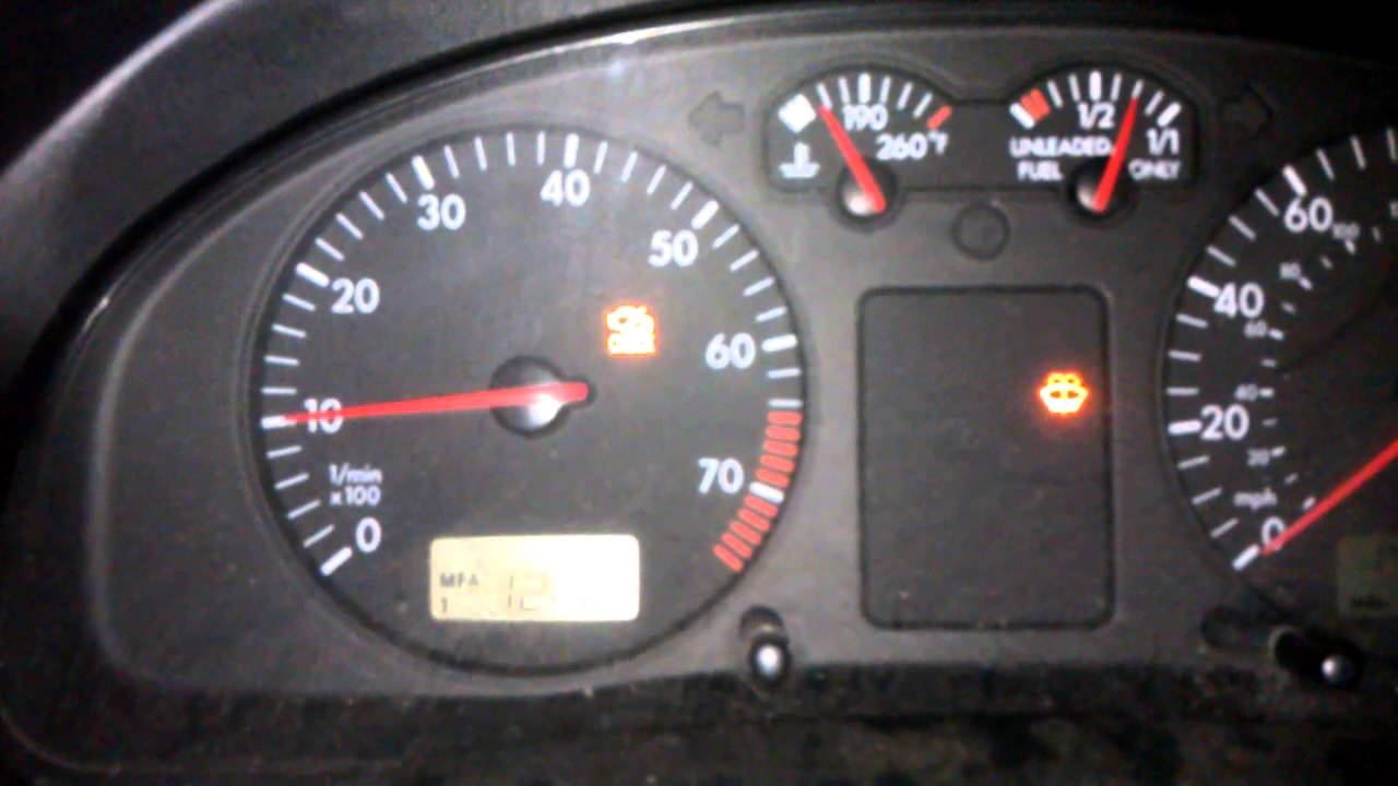 B5 VW Passat idle problems code p1545 - YouTube