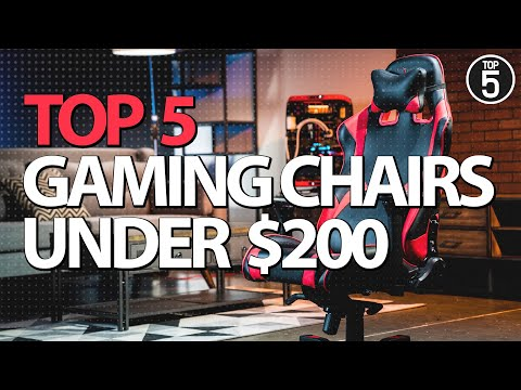 Best Gaming Chairs Under 200 In 2019