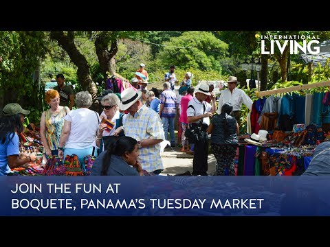 Join the Fun at Boquete, Panama's Tuesday Market